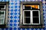 Sunsets in the colorful neighborhoods of Porto…